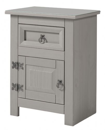 Premium Compact Corona 1 Door and Drawer Bedside